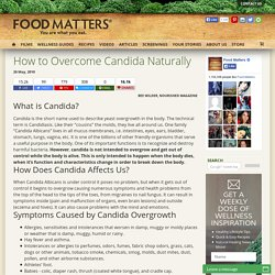 How to Overcome Candida Naturally