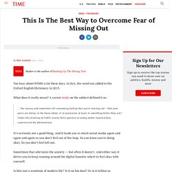 How to Overcome FOMO: Fear of Missing Out