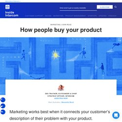 How people buy your product