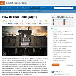 How To: HDR Photography