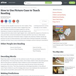 How to Use Picture Cues to Teach Reading
