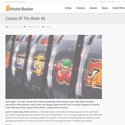How to play with Bitcoin Casino