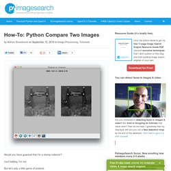 How-To: Python Compare Two Images