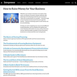 How to Raise Money for Your Business