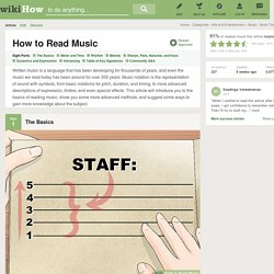 8 Ways to Read Music
