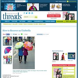 How to Recover an Umbrella - Threads