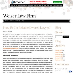 How To Get Reliable Divorce Lawyer?