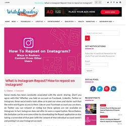 How to Repost on Instagram: 2 Methods to Repost on Instagram