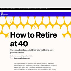 How to Retire at 40