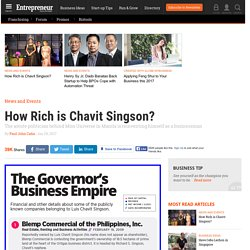 Chavit Singson Is One Crazy Rich Asian