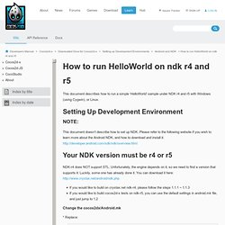 How to run HelloWorld on ndk r4 and r5 - cocos2d-x - cocos2d-x.org