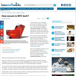 How secure is NFC tech? - HowStuffWorks