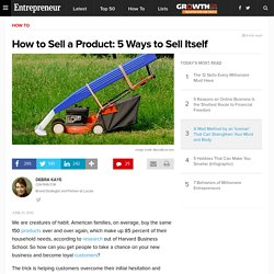 5 Ways to Make Your Product Sell Itself