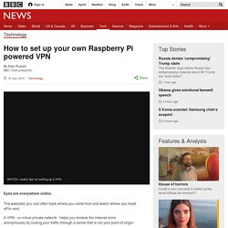 Raspberry Pi VPN - BBC