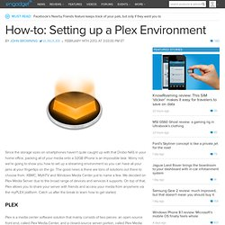 How-to: Setting up a Plex Environment