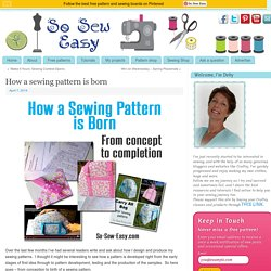 How a sewing pattern is born