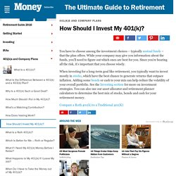 401k: Learn How You Should Invest - MONEY