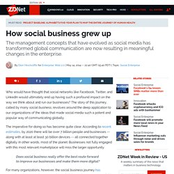 How social business grew up