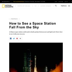 How to See a Space Station Fall From the Sky