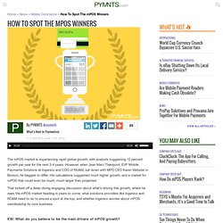 How to Spot the mPOS Winners