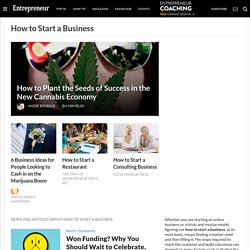 How to Start a Business News & Topics