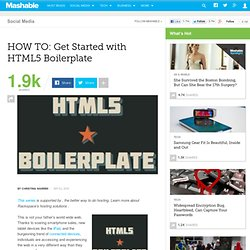 HOW TO: Get Started with HTML5 Boilerplate