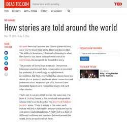 How stories are told around the world