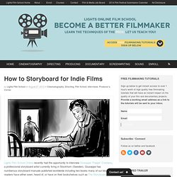 How to Storyboard for Indie Films