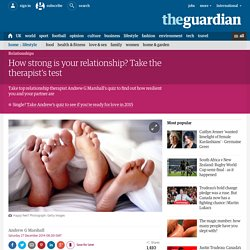 How strong is your relationship? quiz
