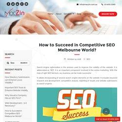 How to Get Success in Competitive SEO World?