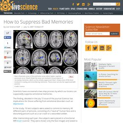 How to Suppress Bad Memories
