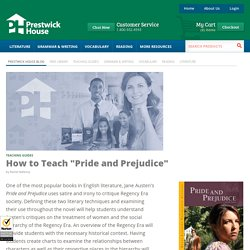 "How to Teach ""Pride and Prejudice"""