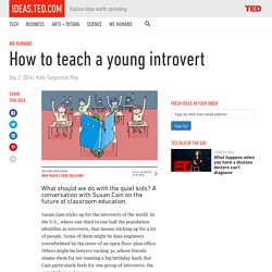 How to teach a young introvert