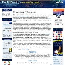 telekinese test online