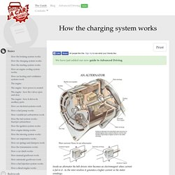 How the charging system works