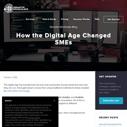 How the Digital Age Changed SMEs