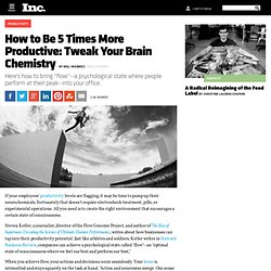 How to Be 5 Times More Productive