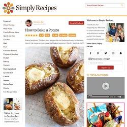 How to Bake a Potato {EASY}