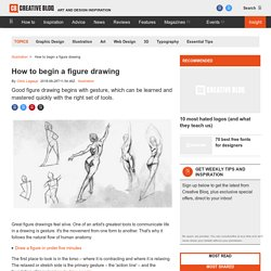 How to begin a figure drawing