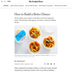 How to Build a Better Dinner