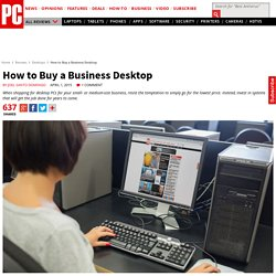 How to Buy a Business Desktop