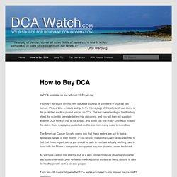 How to Buy DCA