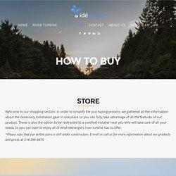 Boutique en ligne - Idénergie