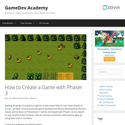 How to Create a Game with Phaser 3 – Zenva