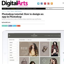 How to design an app in Photoshop