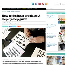 How to design a font: A step-by-step guide