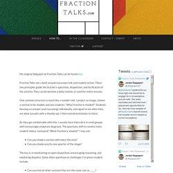 Fraction Talks