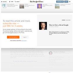 friedman-how-to-get-a-job-at-google