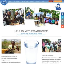 How to Give Clean Water to Africa