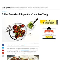 This Is How to Grill Bacon